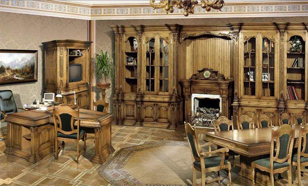 мебель в гостиную под старину фото вообще ничего говорил